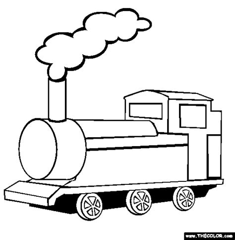 coloring pages transportation vehicles train engine coloring page clipart panda free clipart