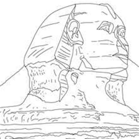 Sphinx Coloring Page Coloring Pages Spinx by Sphinx Coloring Page