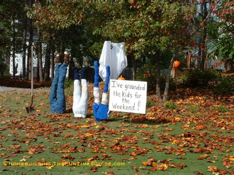 one of a kind halloween yard decoration ideas the