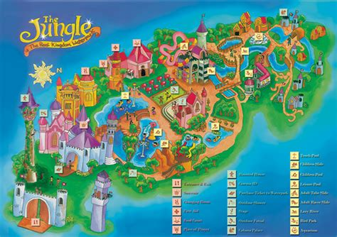 lord of the flies theme park infotainment map quot the jungle quot on behance