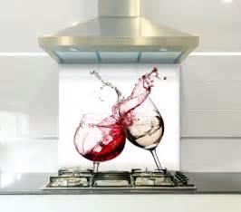 Lime Green Bathroom Ideas red amp white wine printed kitchen toughened glass splashback