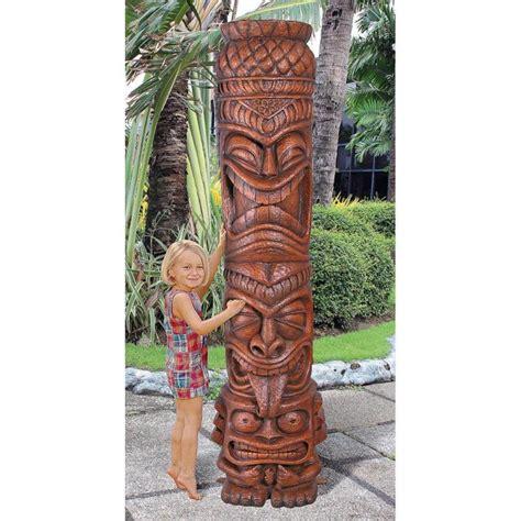 island 4 tiki indoor outdoor water fountain ebay hawaiian tiki statue shop collectibles online daily