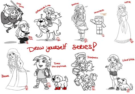 Drawing Yourself by Draw Yourself Series By Knightjj On Deviantart