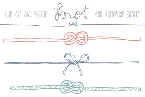 Wedding Knot Clipart by Handdrawn Knot Clip Illustrations On Creative Market