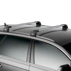 kia sportage thule wingbar edge silver roof bars driveden uk