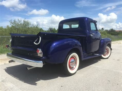 Sleeper Farm Truck by Chevrolet Other 1950 Baltic Blue For Sale