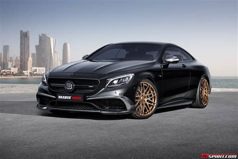 mercedes amg official brabus 850 mercedes s63 amg coupe gtspirit
