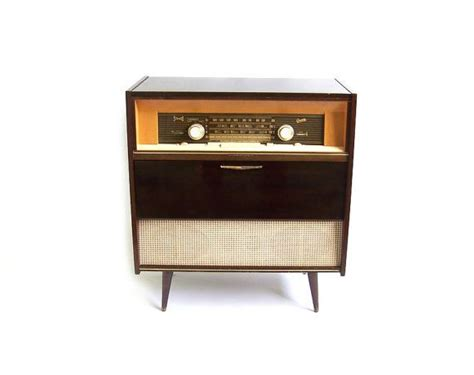 Vintage Hi Fi Cabinet by Vintage Stereo Cabinet Radio Record Player Retro Turntable
