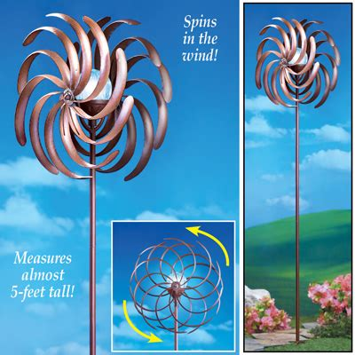solar light wind spinners pinwheel wind spinner with solar light from