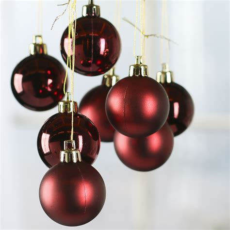 small christmas balls small burgundy ornaments ornaments and winter
