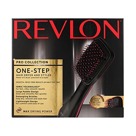 Revlon One Step Hair Dryer And Styler Paddle Brush by Revlon Salon One Step Hair Dryer Styler Desertcart