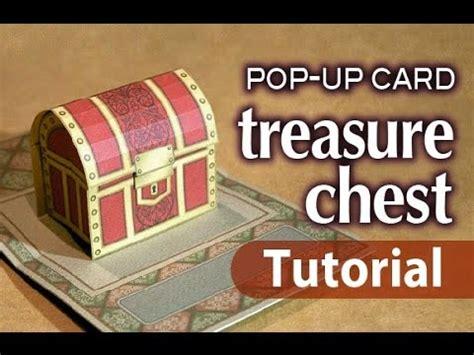 tutorial dance treasure tutorial pop up card treasure chest funnycat tv