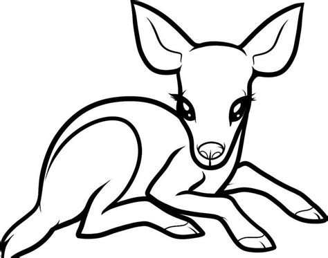 doe deer coloring pages buck and doe coloring pages coloring home
