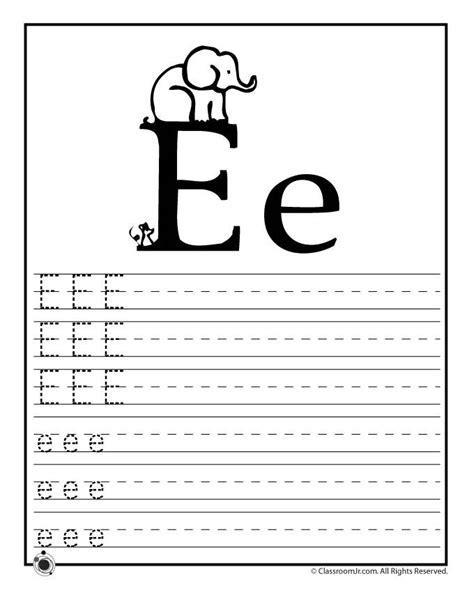 letter e preschool printable activities 85 best kids learning work sheets images on pinterest