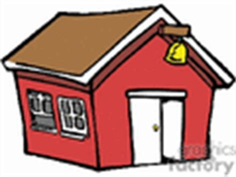 tiny house cartoon school clip art image royalty free vector clipart images