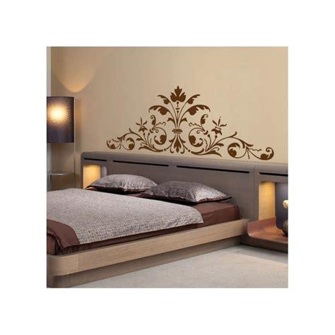 sticker t 234 te de lit roccoco d 233 coration murale baroque et