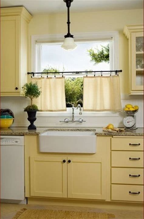 yellow kitchen white cabinets pale yellow kitchen with white cabinets www imgkid com