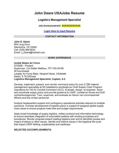 logistics operations manager resume exle pdf operations and logistics resume template free