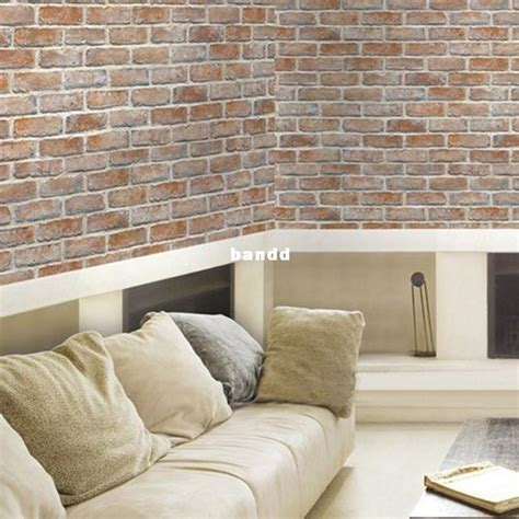 wallpaper self adhesive adhesive wallpaper self adhesive stickers vintage brick