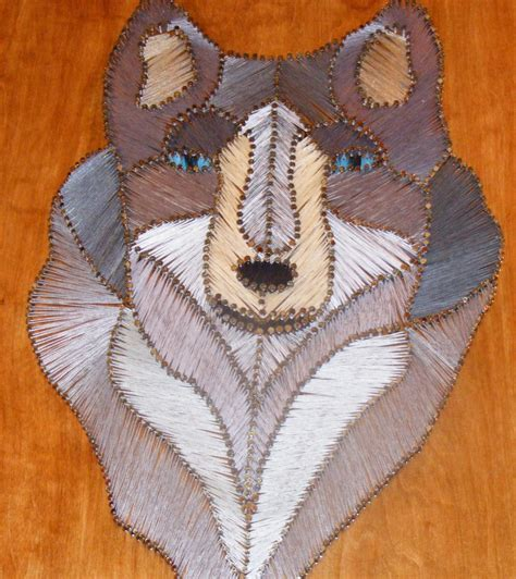 String Designs And - designs in wood and string 2009 string wolf