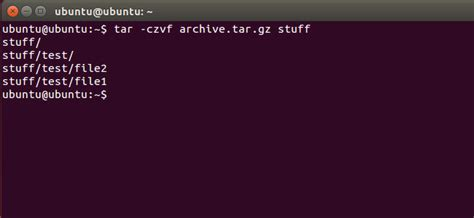 tutorial linux tar how to compress and extract files using the tar command on