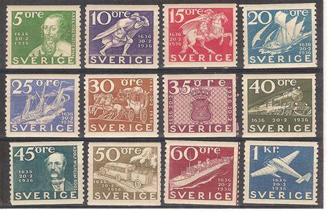 lettere svedesi svezia 1936 001