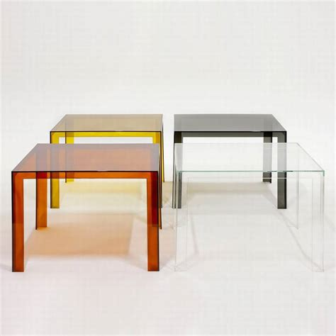 kartell beistelltisch kartell invisible table plastic dining tables dining