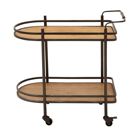 Kitchen Bar Cart by Ec World Imports Mobile Tea Serving And Kitchen Bar Cart