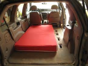 Full Sized Bed Dimensions Minihome In A Minivan For The Mega Journey Creating