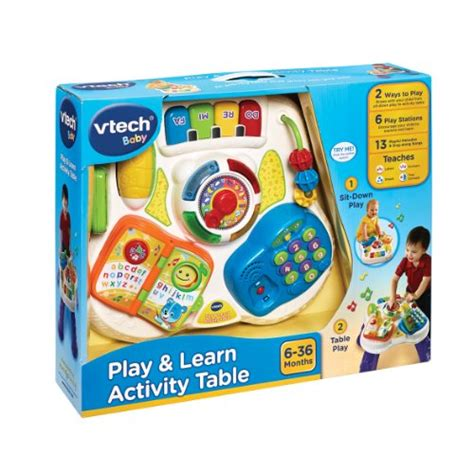Vtech Activity Table by Vtech Baby Play And Learn Activity Table Multi Coloured