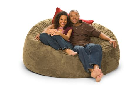 lovesac stock huge bean bags filled with love and foam