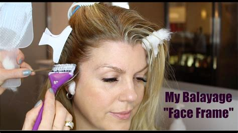 wiki howto face framing hair how to balayage face frame youtube