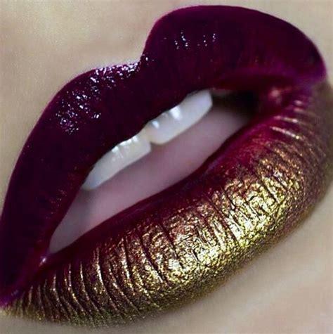 Ombre Lipstick Burgundy burgundy gold my