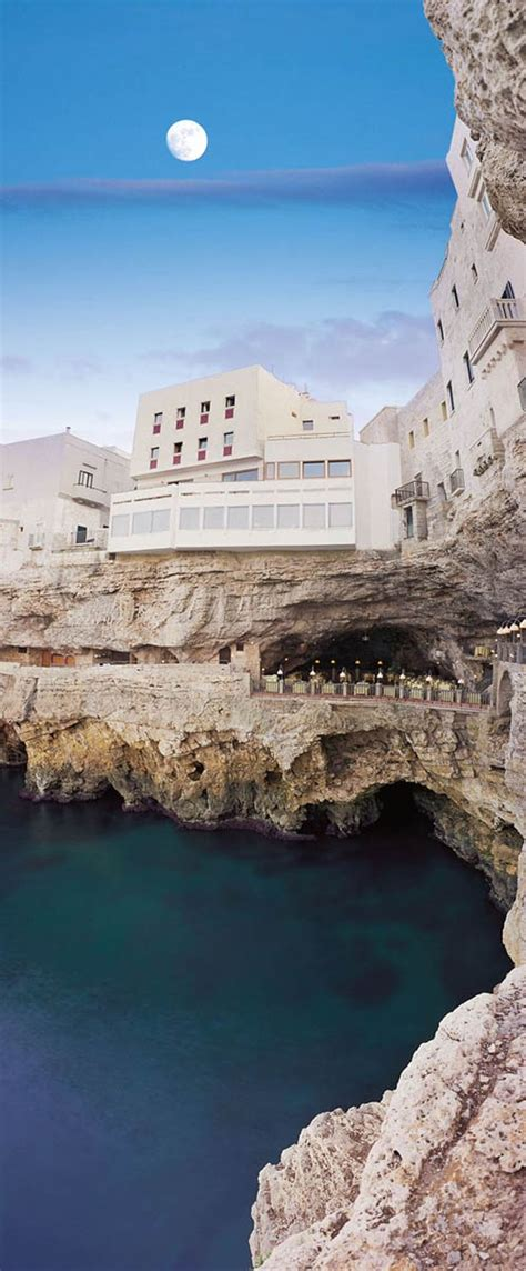 the cliff restaurant italy puglia s italian restaurant in a cave tucked away into