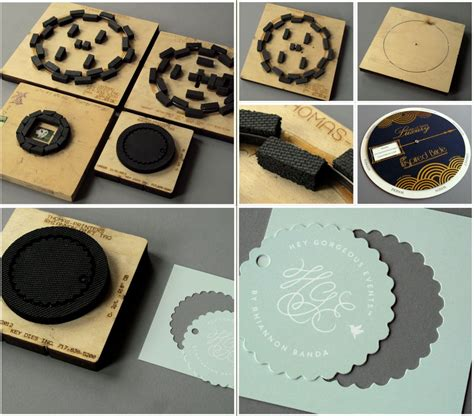 How To Make A Paper Cutting Die - learn about letterpress die cutting printers