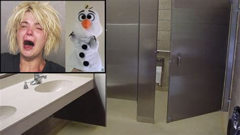 woman caught masturbating in target bathroom with olaf