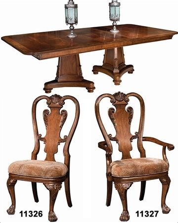 98 traditional dining room furniture sets orleans traditional dining set new orleans by hekman he 11320 set