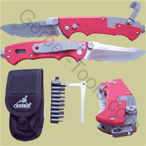 gerber firefighter knife gerber hinderer rescue knife 22 41534 22 01534