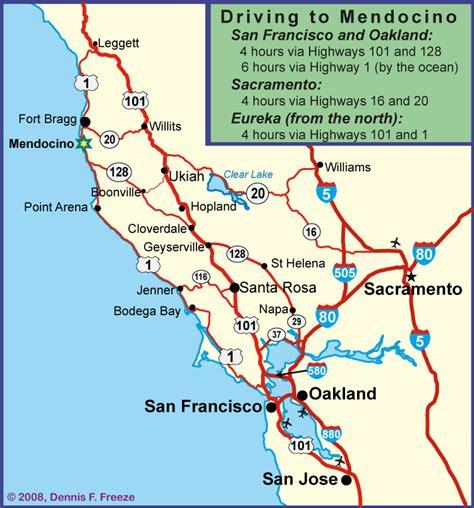 california map coast pacific coast highway over60hiker