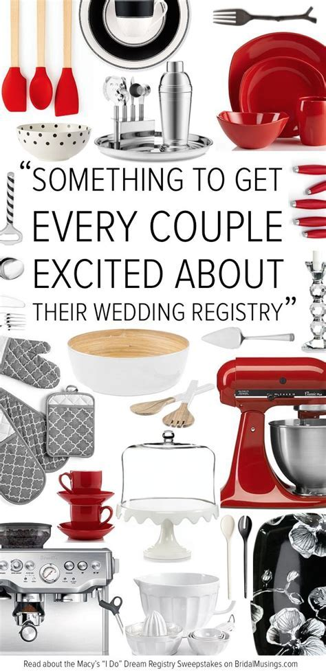 "Win All Your Wedding Gifts with the Macy's ""I Do"" Dream"