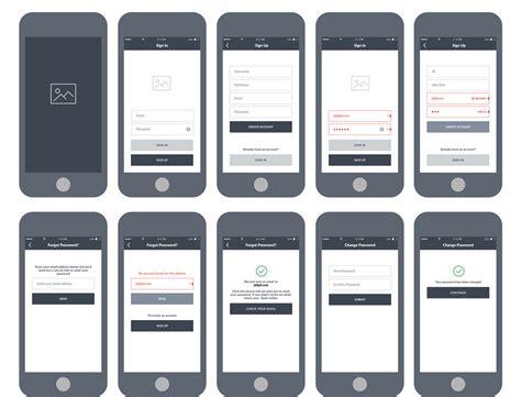 app layout exles app design services ios android app design big fish