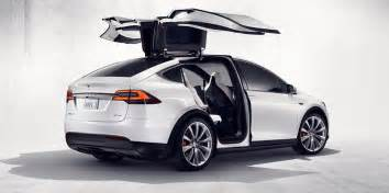 Electric Car Tesla Model X Tesla Model X To Get Two Year Start On Audi E