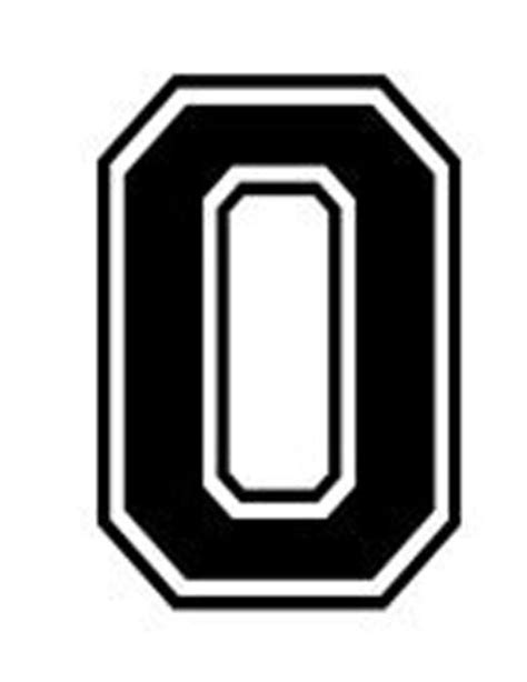 varsity college lettering letter o car tablet vinyl decal ebay