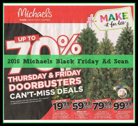 live tree black friday 2016 black friday ad scan leaked spend less shop more