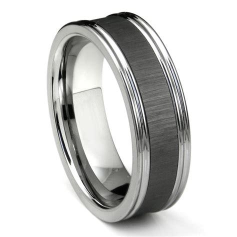 Wedding Bands Handmade by Tungsten Carbide Wedding Bands 93 Mens Wedding Bands Ebay