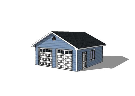 detached garage plans 22 215 22 garage with 2 doors