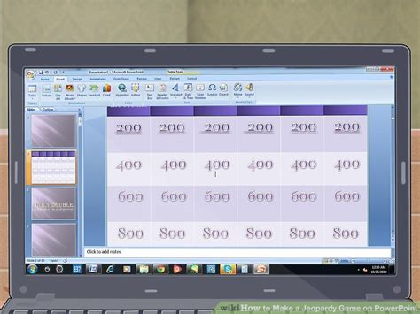 How To Make A Jeopardy Game On Powerpoint With Pictures How To Make A Powerpoint Jeopardy