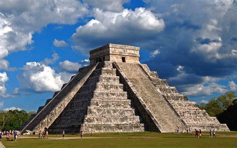 wallpapers chichen itza yucatan mexico el castillo