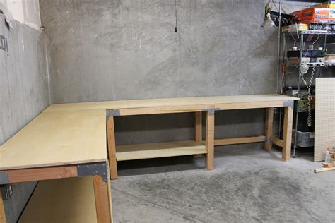 diy garage bench diy custom garage workbench renocompare