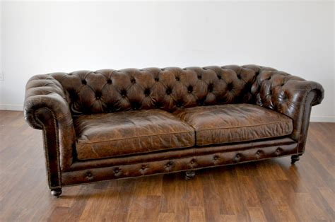 tufted brown leather sofa luxury brown tufted leather sofa